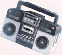 Extra Large Radio