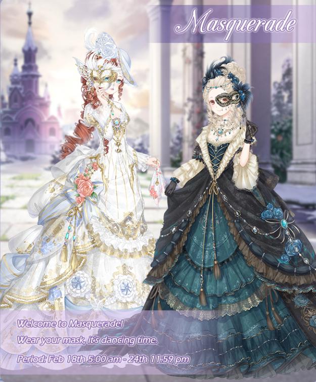 Masquerade Love Night 12222