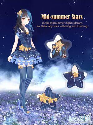 Mid-summer Stars