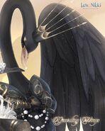 Guarding Wings Closeup 2