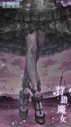 Demon Huntress close up 2