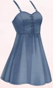 Maidens Heart-Blue