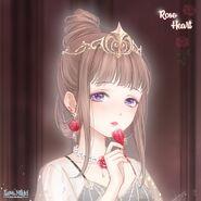 Rose Heart close up 1