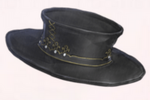 Gold Edge Top Hat