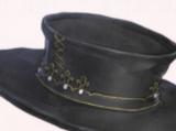 Gold Edge Top Hat