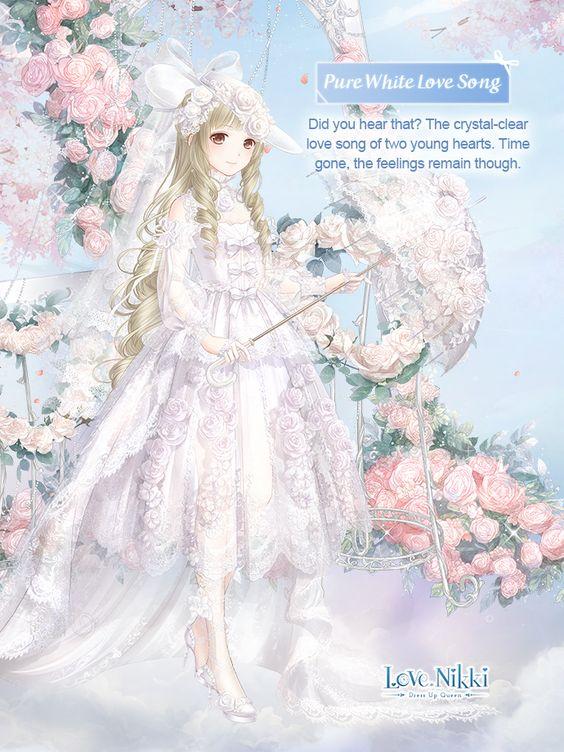 Pure White Love Song Love Nikki Dress Up Queen Wiki