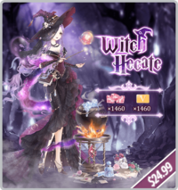 Witch Hecate Pack