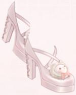Cute High Heels-Pink