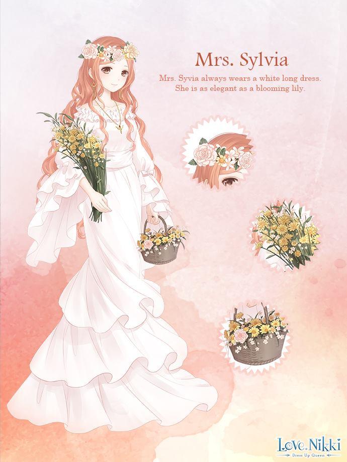 Mrs Sylvia Love Nikki Dress Up Queen Wiki Fandom
