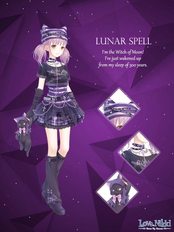 Lunar Spell Love Nikki Dress Up Queen Wiki Fandom