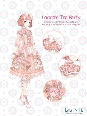 Locco's Tea Party