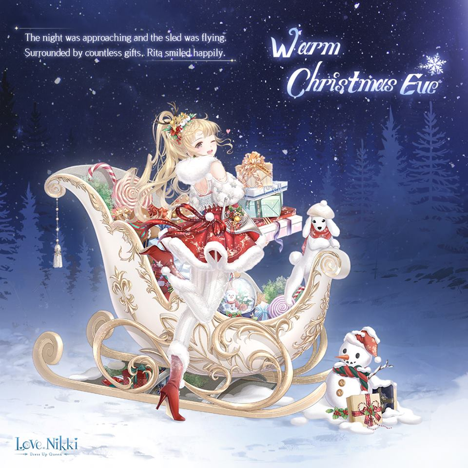 Warm Christmas Eve Love Nikki Dress Up Queen Wiki
