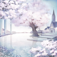 Shiny White Blossom