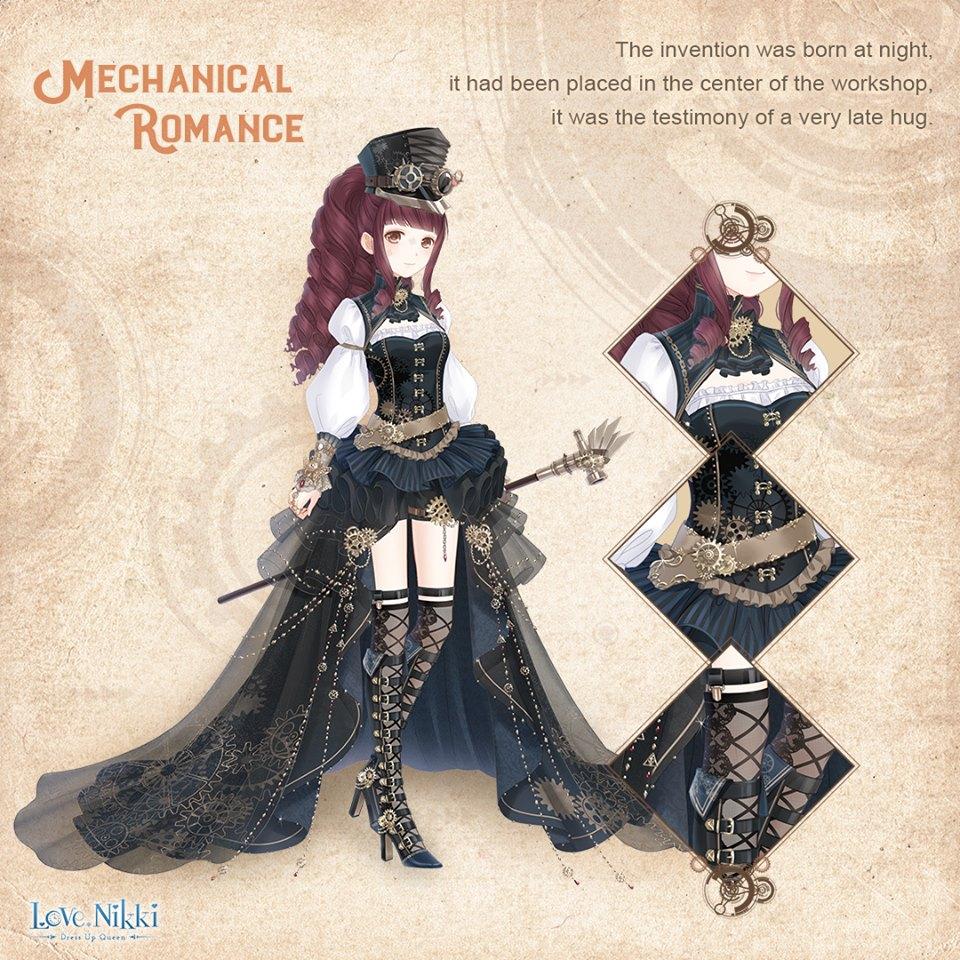 Mechanical Romance Love Nikki Dress Up Queen Wiki