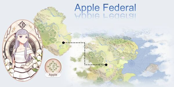 Apple Federal Map