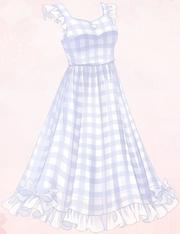 Blue Tartan Sleeves (Dress)