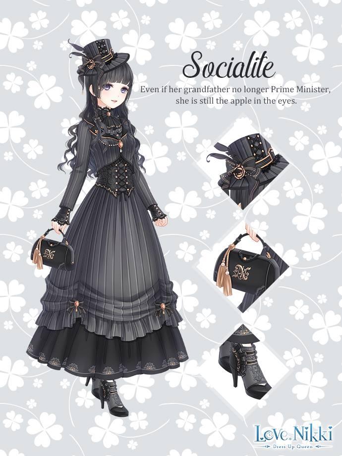 Socialite Love Nikki Dress Up Queen Wiki Fandom