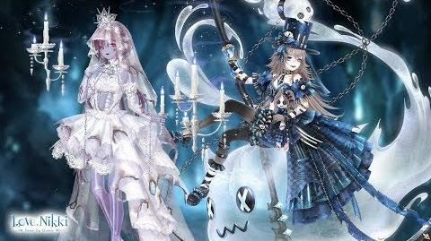 Love Nikki-Dress Up Queen Ghost Candle