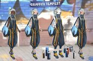 Graffiti Tempest Alternative Skins