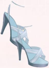 Blue White Shoes