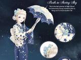 Bath in Starry Sky