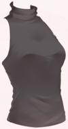 Sleeveless Vest-Black