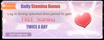 Bonus Stamina