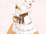 Shepherd Girl's Lamb