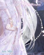 White Blossom Night close up 3