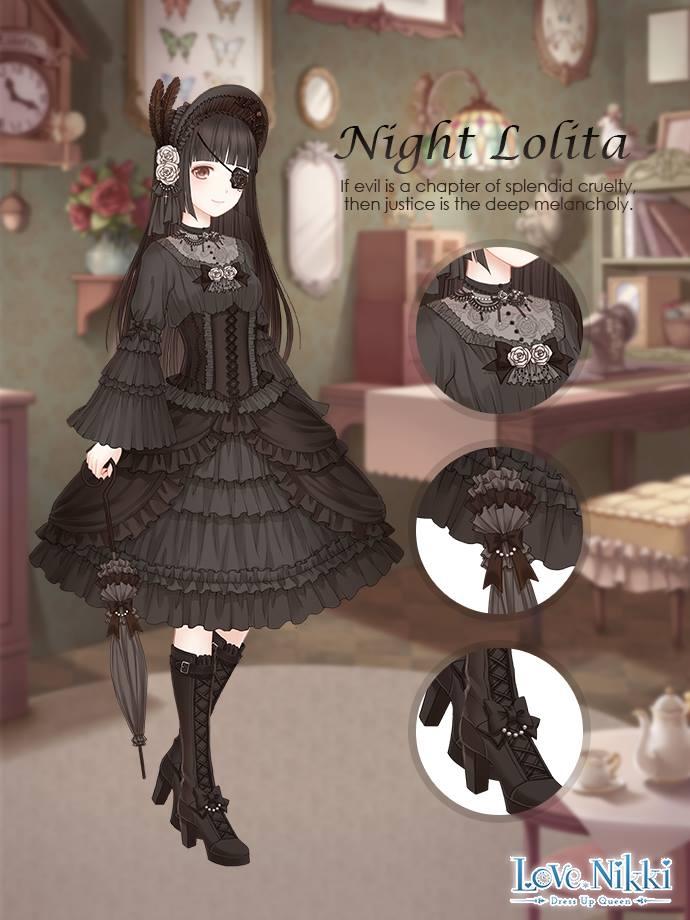Night Lolita Love Nikki Dress Up Queen Wiki Fandom