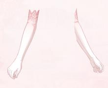 Flower Elf Gloves