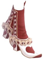 Red Heart Boots