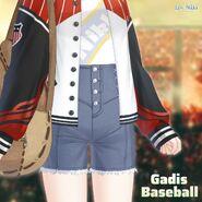 Baseball Girl close up 3