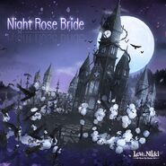 Night Rose Bride background