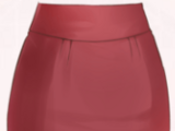 Short Skirt-Red