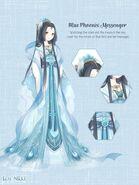 Blue Phoenix Messenger