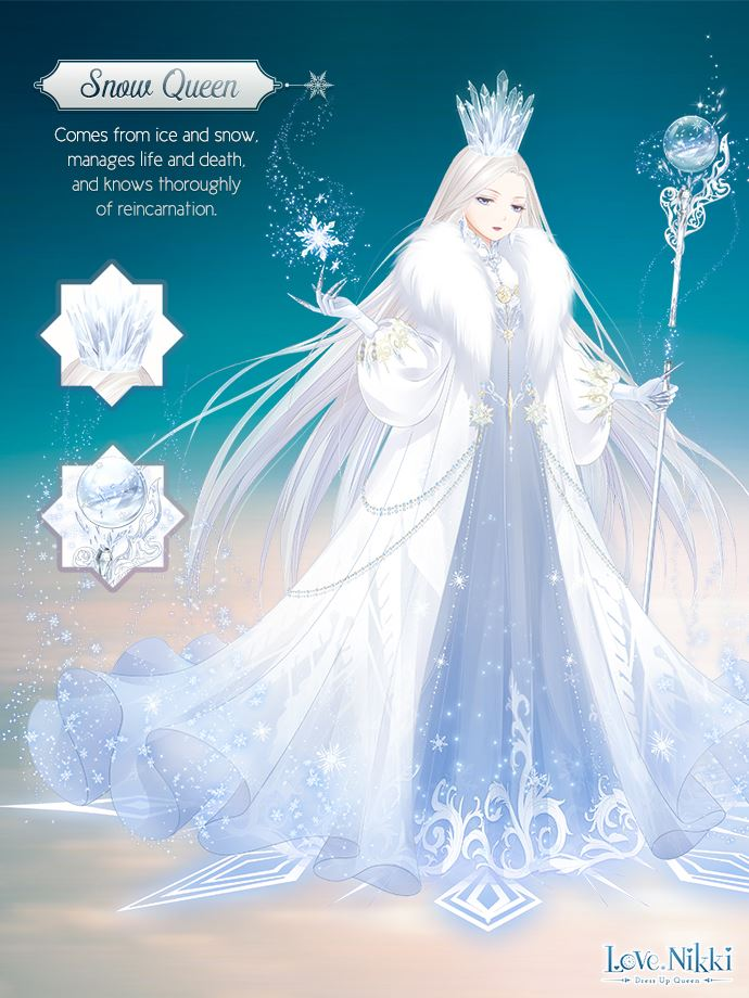 Snow Queen Love Nikki Dress Up Queen Wiki Fandom