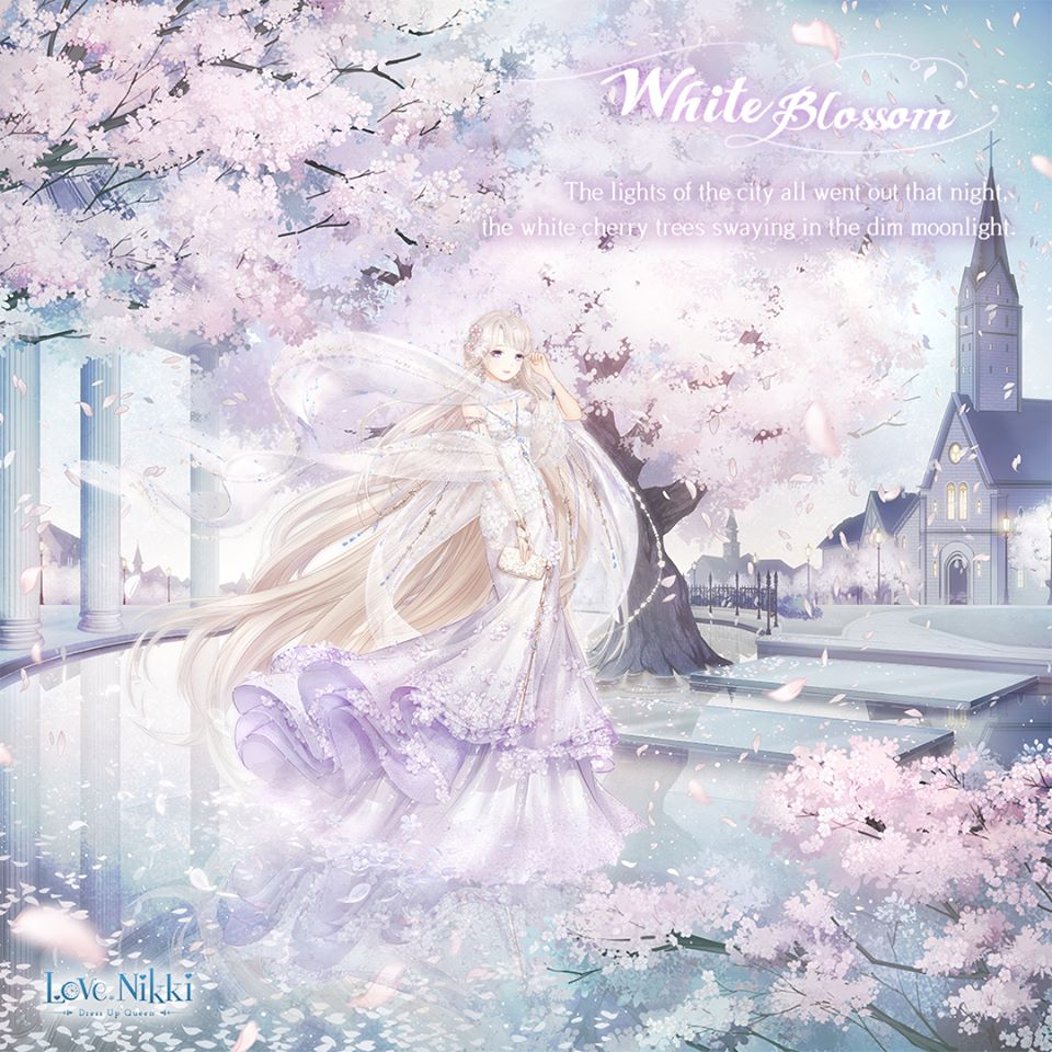 White Blossom | Love Nikki-Dress UP Queen! Wiki | FANDOM