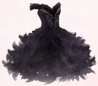 Black Swan Love Nikki Dress Up Queen