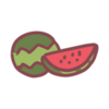 Sticker Watermelon