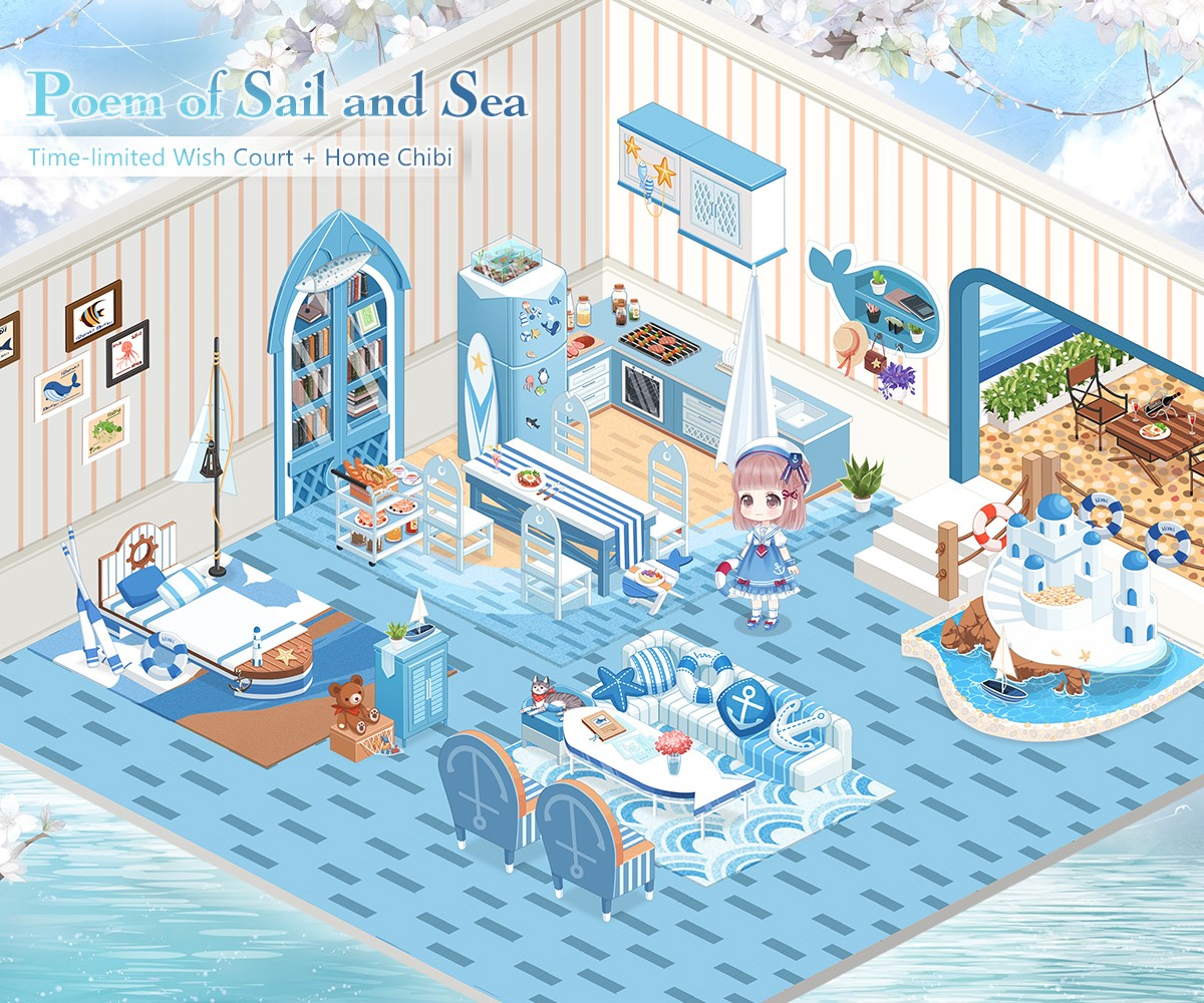 Poem of Sail and Sea | Love Nikki-Dress UP Queen! Wiki