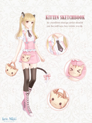 Kitten Sketchbook