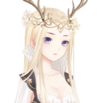 Queen of Deer Elf Bustup