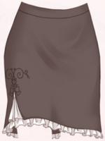 Prime Secretary-Skirt