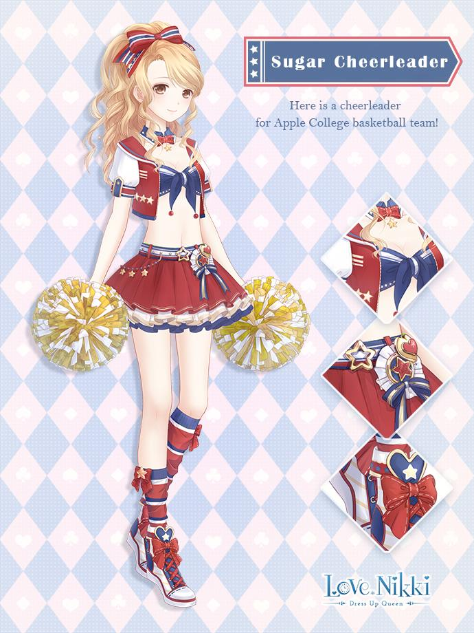 Sugar Cheerleader Love Nikki Dress Up Queen Wiki