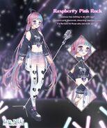 Raspberry Pink Rock
