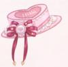 Heart Cake Hat