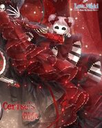 Cerise's Gift Closeup 2