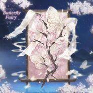 Butterfly Fairy Background