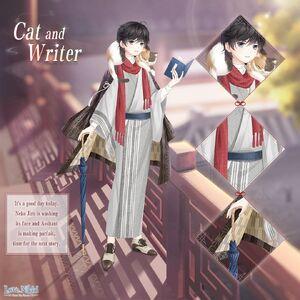 Cat and Writer